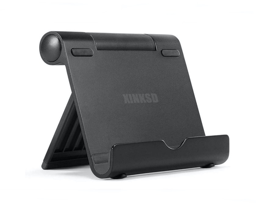 Portable adjustable stand for all 4-10 inch tablets
