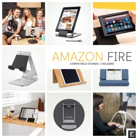 Top Amazon Fire stands, holders, and mounts