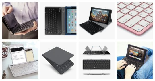 Top keyboard cases and keyboards for Amazon Fire tablets
