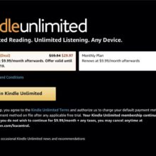 Get 50% off the 6-month Kindle Unlimited prepaid plan – the highest price drop ever