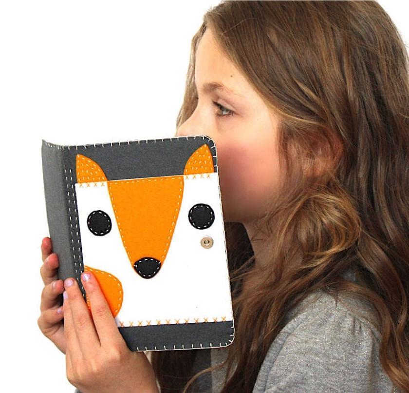 Adorable Kindle folio case for kids - Etsy