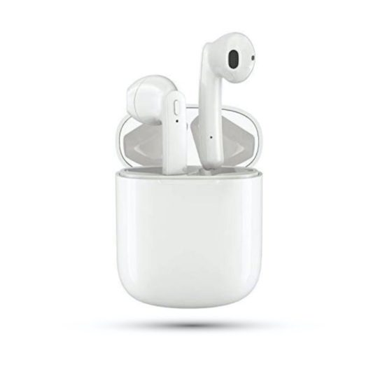 AirPods alternative white earbuds Bluetooth 5