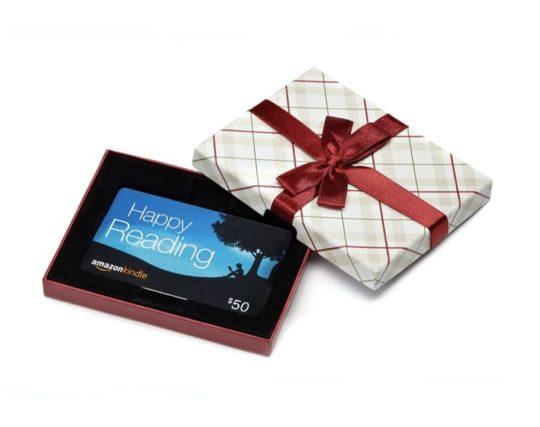 Amazon gift card - Kindle branded