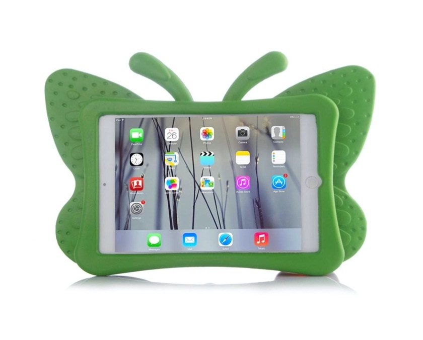 Apple iPad kid-friendly butterfly-shaped case