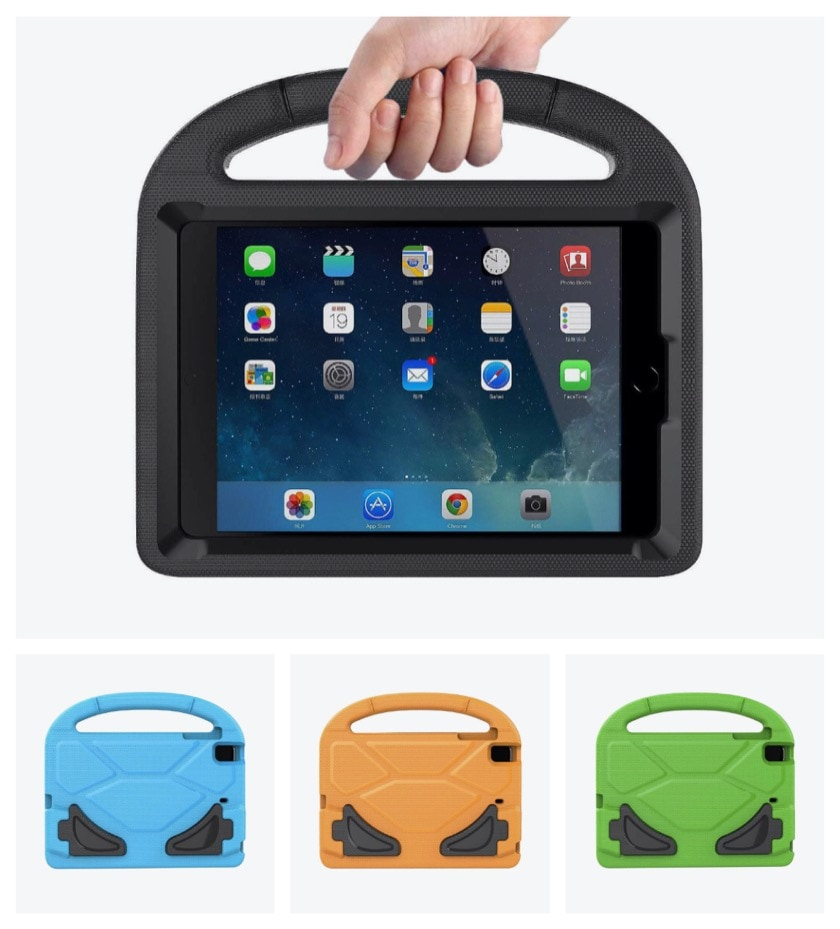 Apple iPad mini kids case with multipurpose handle