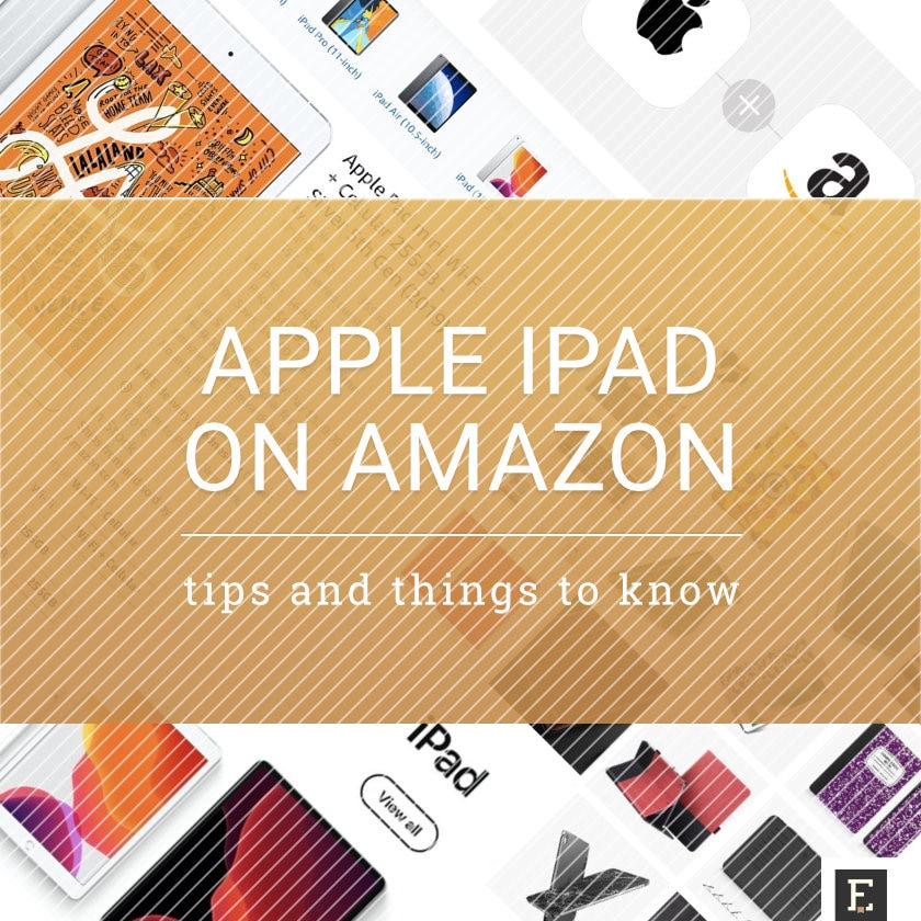 Apple iPad on Amazon - tips and tricks