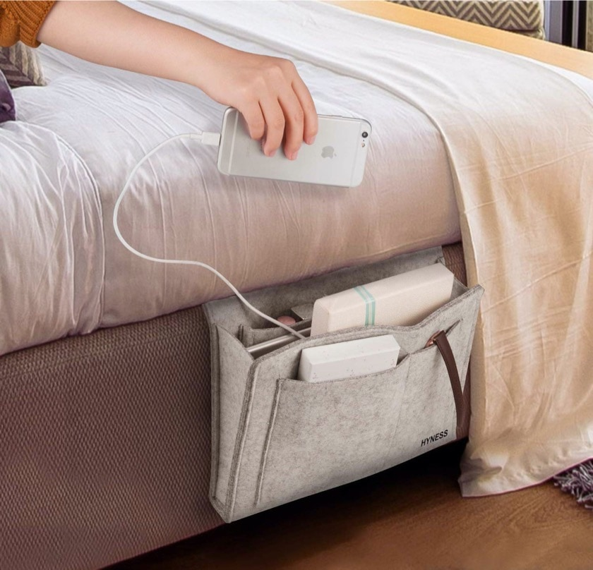 Bedside caddy - best new gifts for book lovers