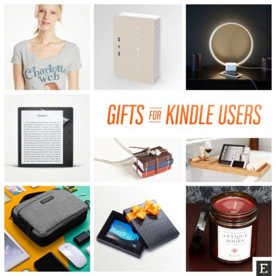 Best gifts and gift ideas for Kindle lovers