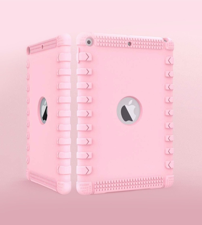 Best iPad 10.2 cases for kids - Solid bumper case with hollowed-out design