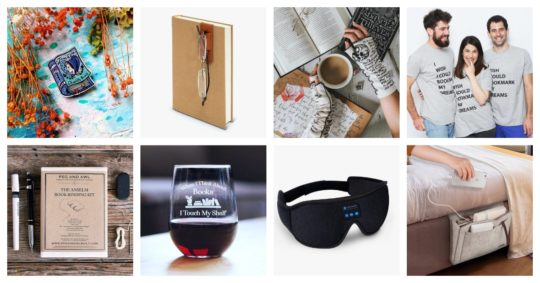 Best new gifts for book lovers - 2019 holiday list