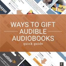6 easy ways to gift Audible audiobooks