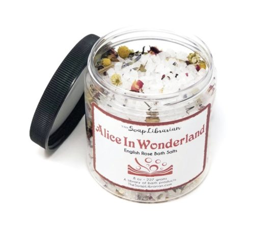 Book-inspired bath salt - best new gifts