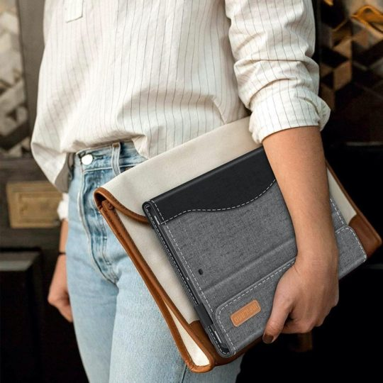 Business-style iPad 10.2 stand cover