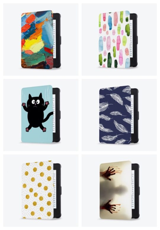 Designer slim Kindle cases on Etsy - 40 variants