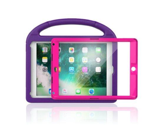 Dual-color Apple iPad 9.7 heavy-duty kid case