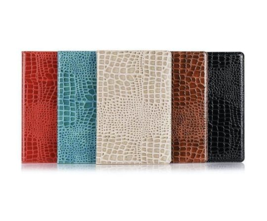 Eco-friendly crocodile skin iPad 10.2 2020/2019 case cover