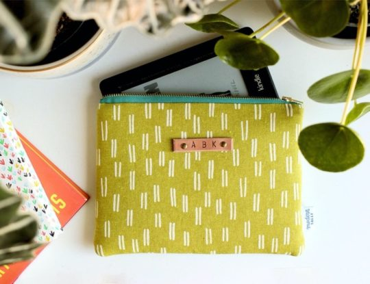 Fashion Kindle pouch from Modern Tally - Etsy