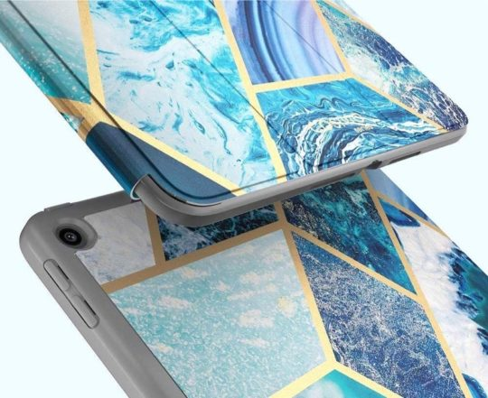 Fashionable and protective iPad 10.2 cover for women