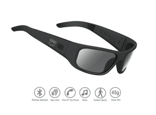 Fashionable sunglasses with Bluetooth speakers