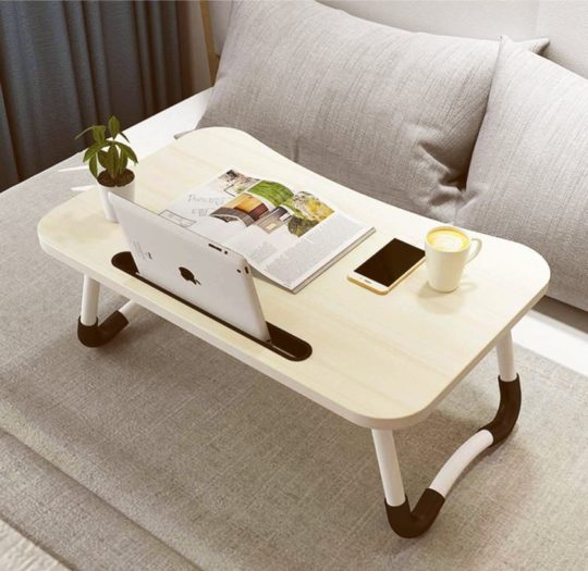 Foldable reading stand and laptop table - new gifts for book lovers