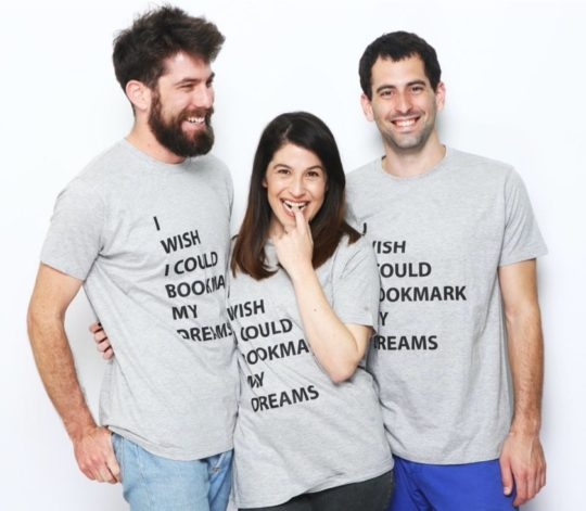 """I Wish I Could Bookmark My Dreams"" t-shirt"