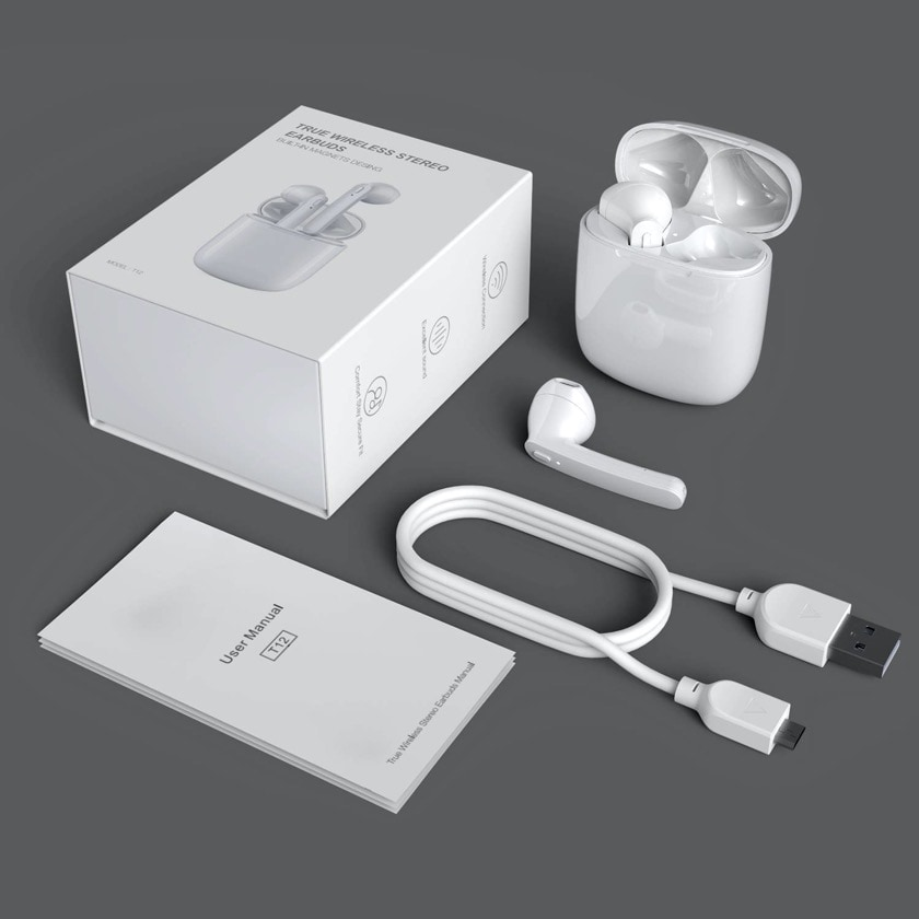 Kindle compatible AirPods alternative earbuds