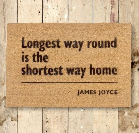 Literary doormats - James Joyce