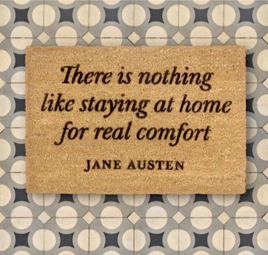 Literary doormats - Jane Austen
