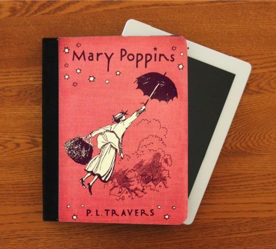Mary Poppins iPad folio case cover