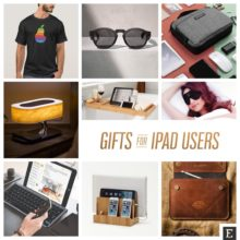 Most creative gifts and gift ideas for iPad users