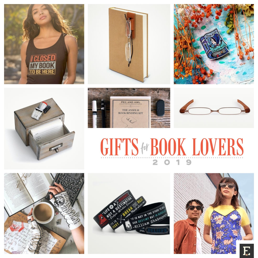 Newest gifts for book lovers - holiday 2019 gift list