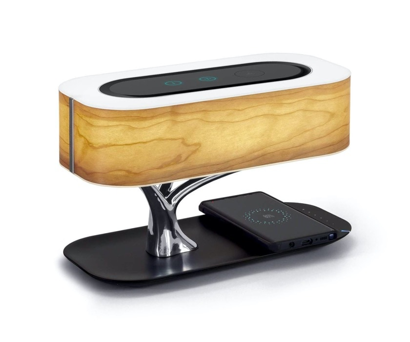 Premium Bluetooth speaker bedside lamp wireless charger