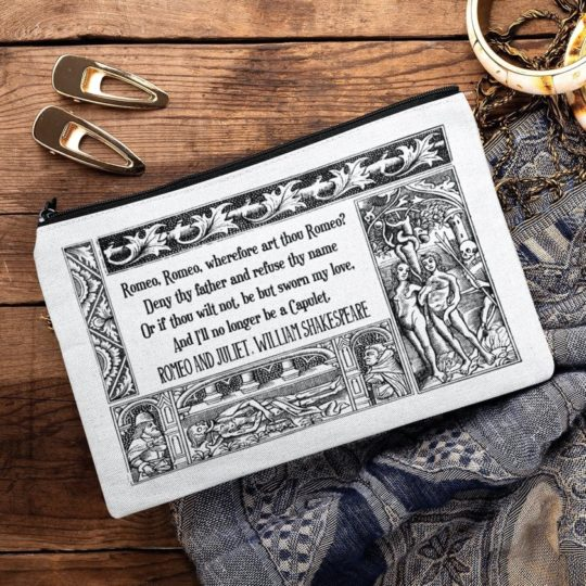 """Romeo and Juliet"" pencil case - best gifts"