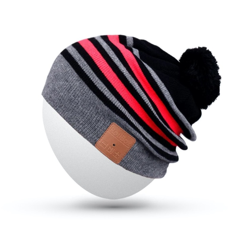 Rotibox winter cap with Bluetooth 4.1 headphones