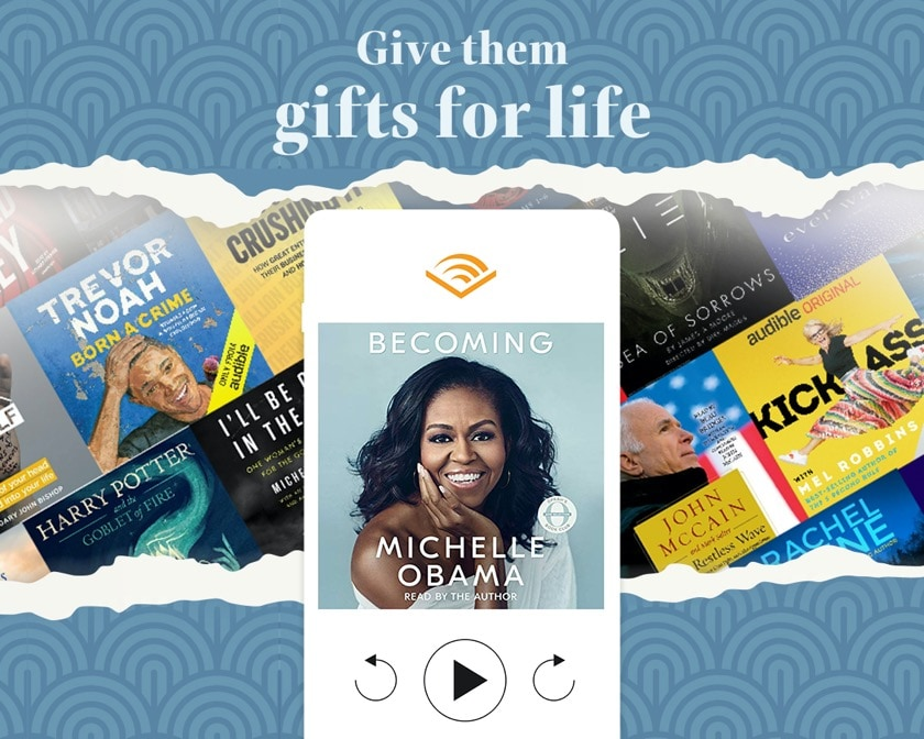 Audible gift membership - last minute gift ideas