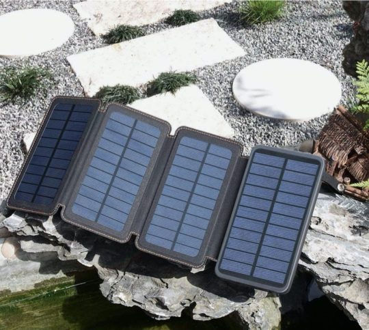 Best rated foldable solar charger on Amazon - best iPad accessories 2021
