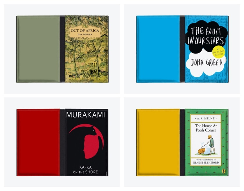 Caseable - add covers from favorite books