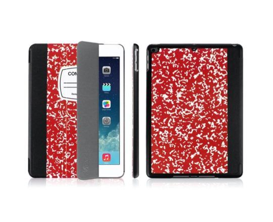 """Iconic """"Composition Book"""" iPad notebook-style case cover"""