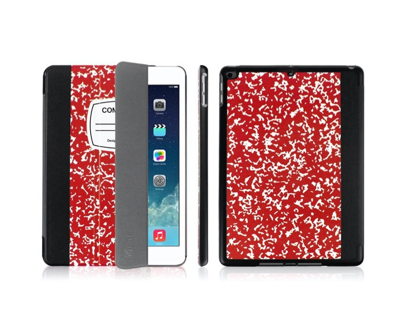 Composition Book iPad notebook-style case cover