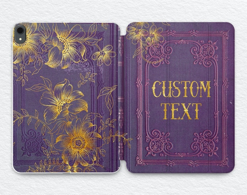 Customized iPad book case from Light Low - variant 2