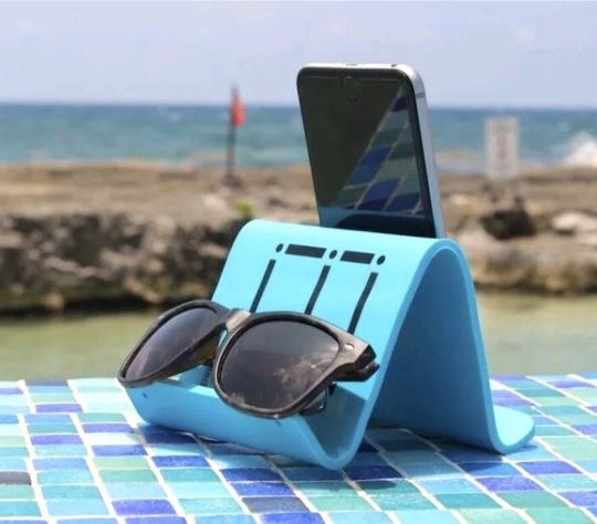 Fully flexible stand for iPad and print books - iFlex