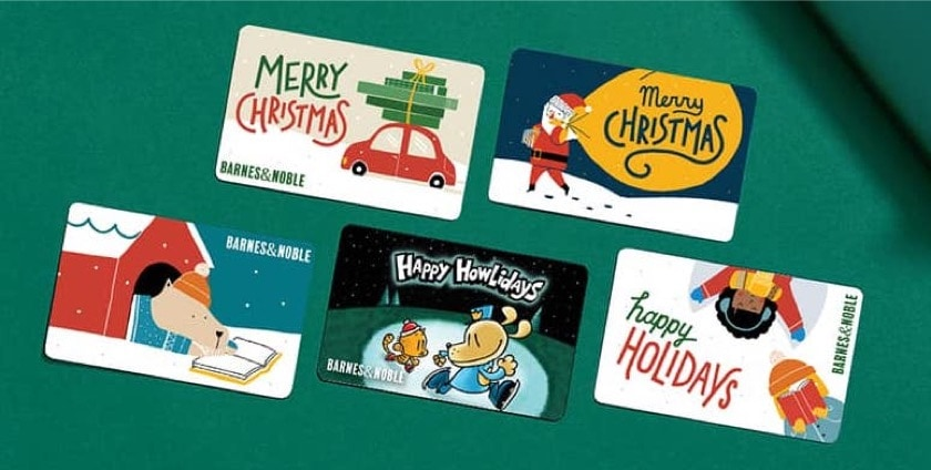 Gift Barnes and Noble gift card to save $10