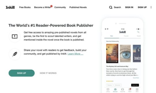 Inkitt - short stories to read online