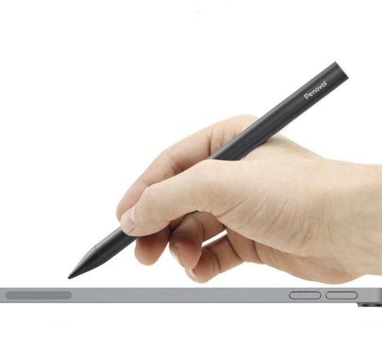 Palm-rejection iPad stylus perfect for hand notes