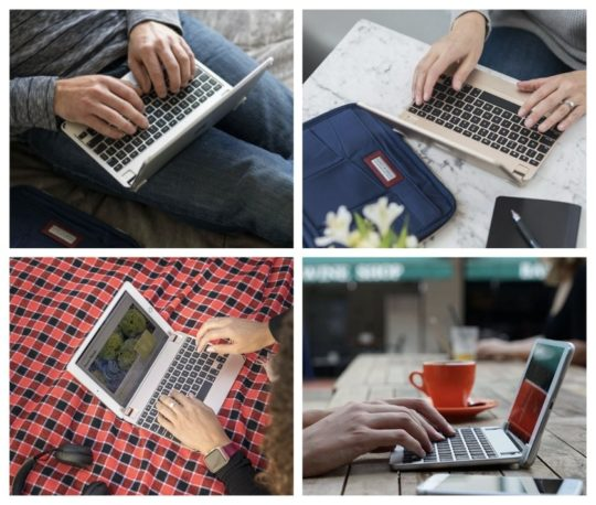 Premium iPad keyboard case by Brydge
