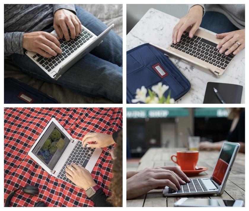 Premium iPad keyboard case by Brydge