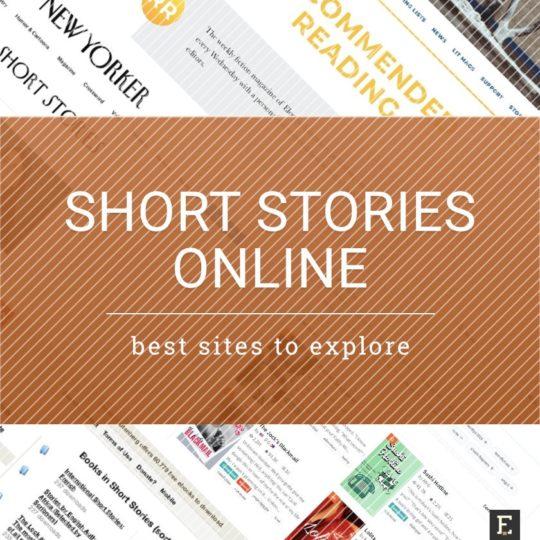 Read short stories online - the best sites