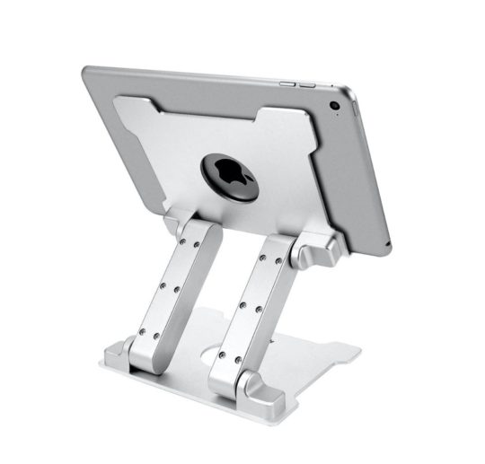 Solid stable iPad desktop stand - best iPad accessories for 2020
