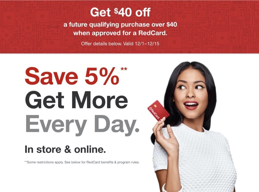Target gift cards - best last-minute gift ideas