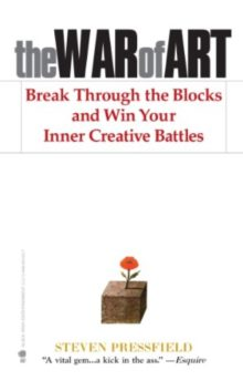 The War of Art - Steven Pressfield - best books for aspiring authors